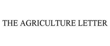 THE AGRICULTURE LETTER