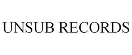 UNSUB RECORDS