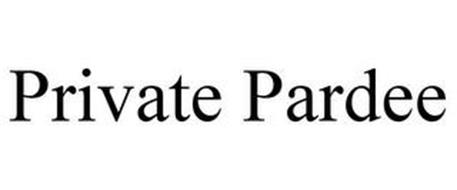 PRIVATE PARDEE