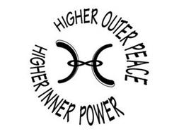 H HIGHER INNER POWER HIGHER OUTER PEACE
