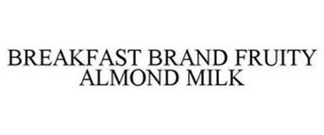 BREAKFAST BRAND FRUITY ALMOND MILK