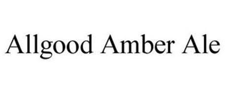 ALLGOOD AMBER ALE
