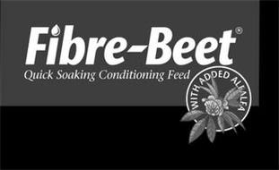 FIBRE-BEET QUICK SOAKING CONDITIONING FEED WITH ADDED ALFALFA