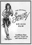THE ORIGINAL SAILOR JERRY SPICED RUM CARIBBEAN RUM WITH SPICE, CARAMEL AND OTHER NATURAL FLAVORS