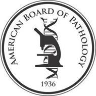 AMERICAN BOARD OF PATHOLOGY 1936