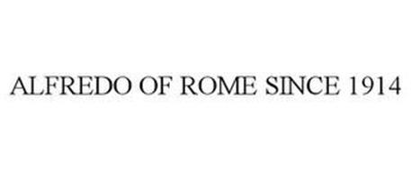 ALFREDO OF ROME SINCE 1914