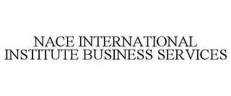 NACE INTERNATIONAL INSTITUTE BUSINESS SERVICES