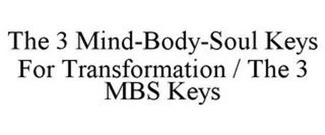 THE 3 MIND-BODY-SOUL KEYS FOR TRANSFORMATION / THE 3 MBS KEYS