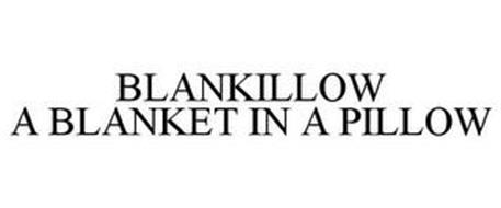 BLANKILLOW A BLANKET IN A PILLOW