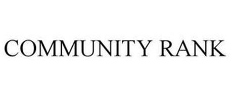 COMMUNITY RANK