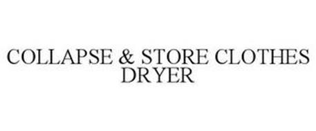 COLLAPSE & STORE CLOTHES DRYER