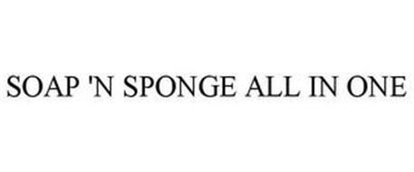 SOAP 'N SPONGE ALL IN ONE
