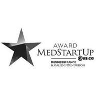 AWARD MEDSTARTUP @US.CA BUSINESSFRANCE & GALIEN FOUNDATION