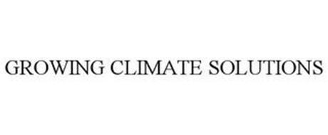 GROWING CLIMATE SOLUTIONS