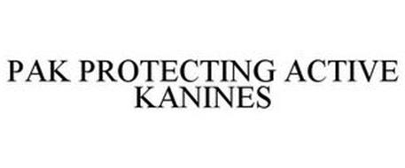 PAK PROTECTING ACTIVE KANINES