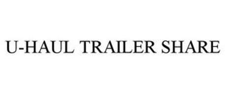 U-HAUL TRAILER SHARE