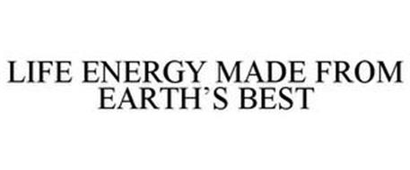 LIFE ENERGY MADE FROM EARTH'S BEST
