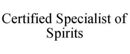 CERTIFIED SPECIALIST OF SPIRITS