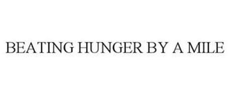 BEATING HUNGER BY A MILE