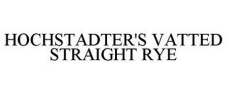 HOCHSTADTER'S VATTED STRAIGHT RYE