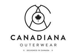 CA CANADIANA OUTERWEAR DESIGNED IN CANADA