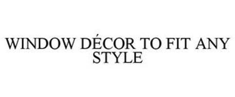 WINDOW DÉCOR TO FIT ANY STYLE