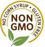 NO CORN SYRUP · GLUTEN FREE NON GMO