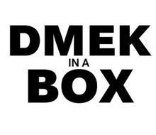 DMEK IN A BOX