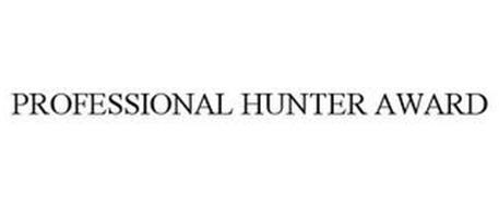 PROFESSIONAL HUNTER AWARD