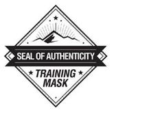 TRAINING MASK SEAL OF AUTHENTICITY