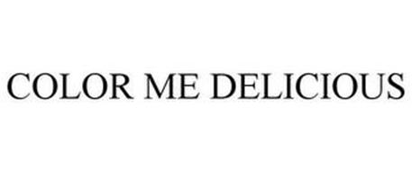 COLOR ME DELICIOUS