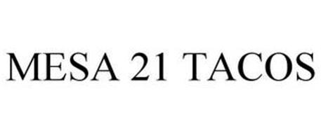MESA 21 TACOS