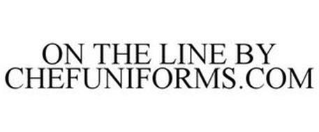 ON THE LINE BY CHEFUNIFORMS.COM