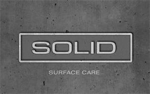 SOLID SURFACE CARE