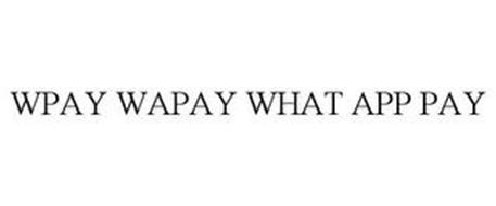 WPAY WAPAY WHAT APP PAY