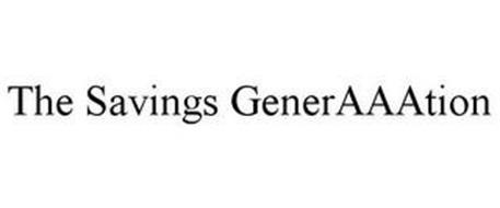 THE SAVINGS GENERAAATION