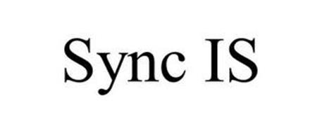 SYNC IS