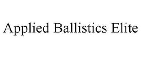 APPLIED BALLISTICS ELITE