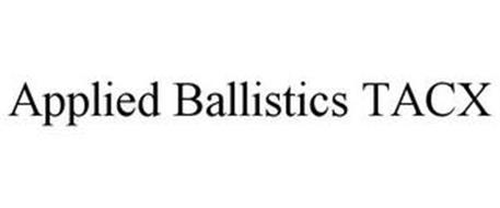 APPLIED BALLISTICS TACX