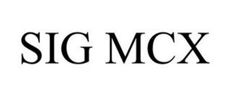 SIG MCX