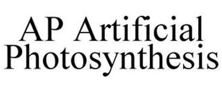 AP ARTIFICIAL PHOTOSYNTHESIS