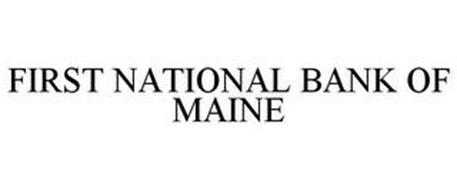 FIRST NATIONAL BANK OF MAINE