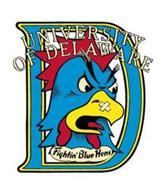 D UNIVERSITY OF DELAWARE FIGHTIN' BLUE HENS