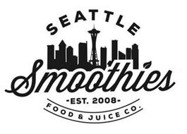 SEATTLE SMOOTHIES,-EST. 2008-FOOD & JUICE CO.