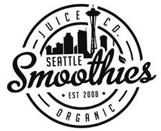SEATTLE SMOOTHIES JUICE CO. EST 2008 ORGANIC