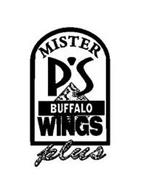 MISTER P'S BUFFALO WINGS PLUS