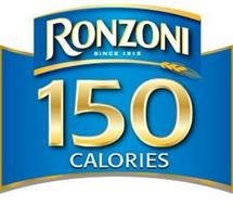 RONZONI SINCE 1915 150 CALORIES