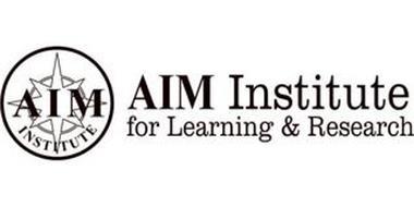 AIM INSTITUTE AIM INSTITUTE FOR LEARNING & RESEARCH