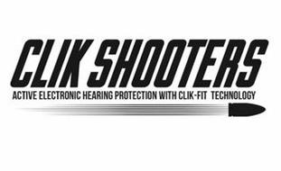 CLIK SHOOTERS ACTIVE ELECTRONIC HEARING PROTECTION WITH CLICK-FIT TECHNOLOGY