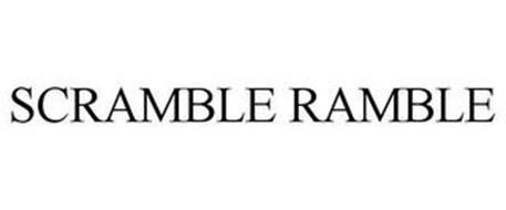 SCRAMBLE RAMBLE
